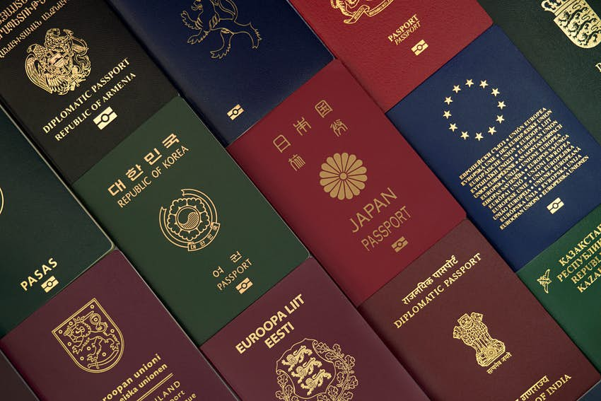 The reasons why these are the only passport colours you'll see - Lonely  Planet