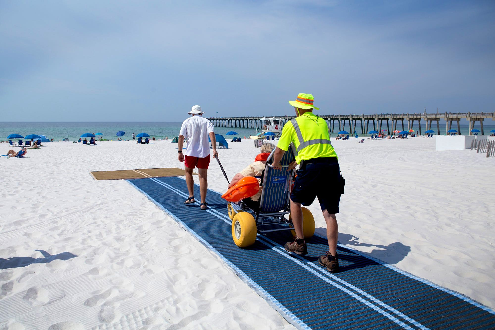 These Florida beaches are now accessible to people in wheelchairs