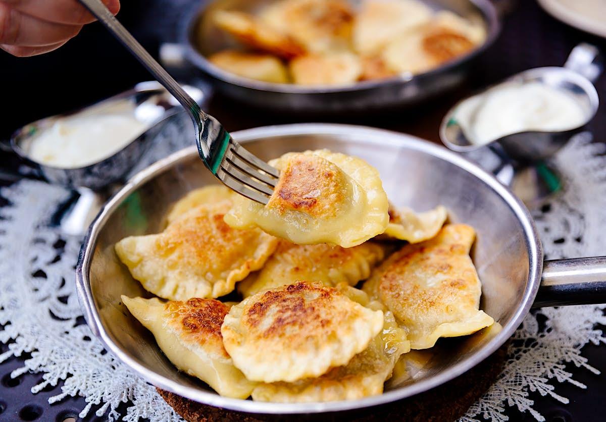 How to make Polish pierogi