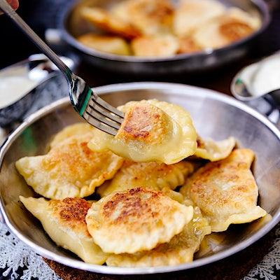 The Travel Kitchen series #9: Polish pierogi