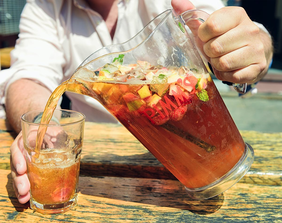 How to make a British Pimm's