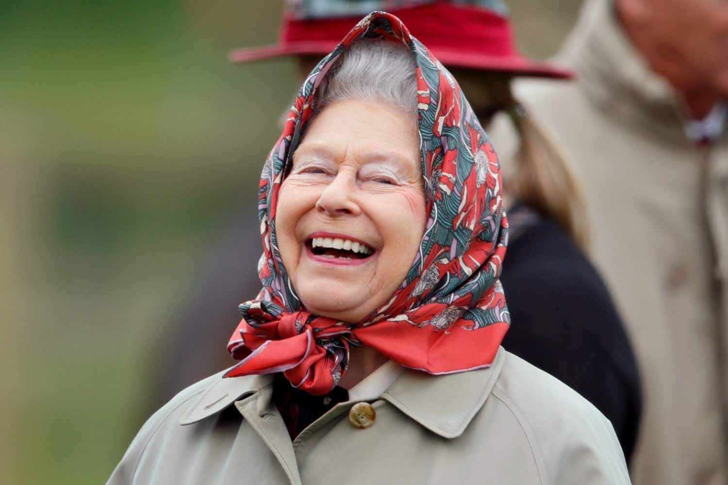 It is known the the Queen has a great sense of humour. Image: Max Mumby/Indigo/Getty Images