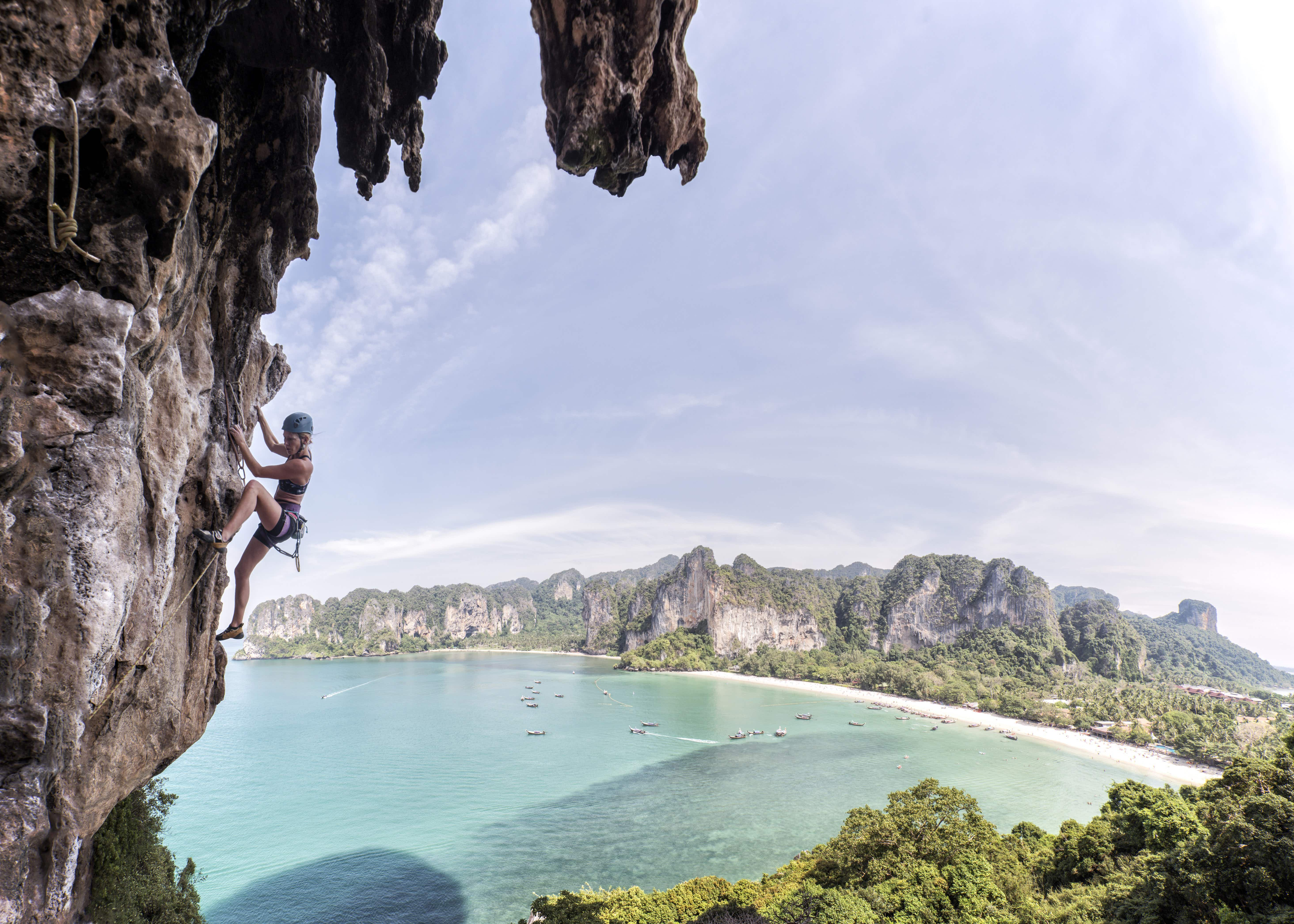 The 7 best rock climbing destinations in Southeast Asia