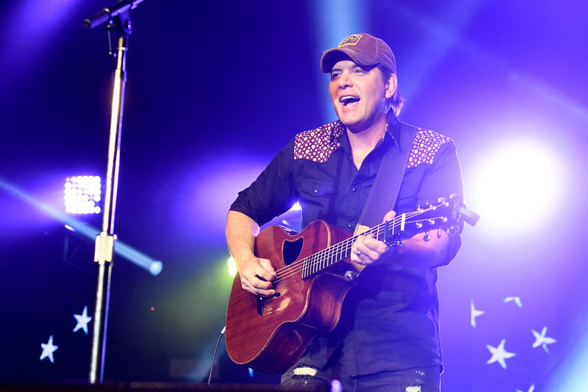 Rodney Atkins will headline the Island Hopper Fest in Southwest Florida. Image: Frazer Harrison/Getty Images for ACM
