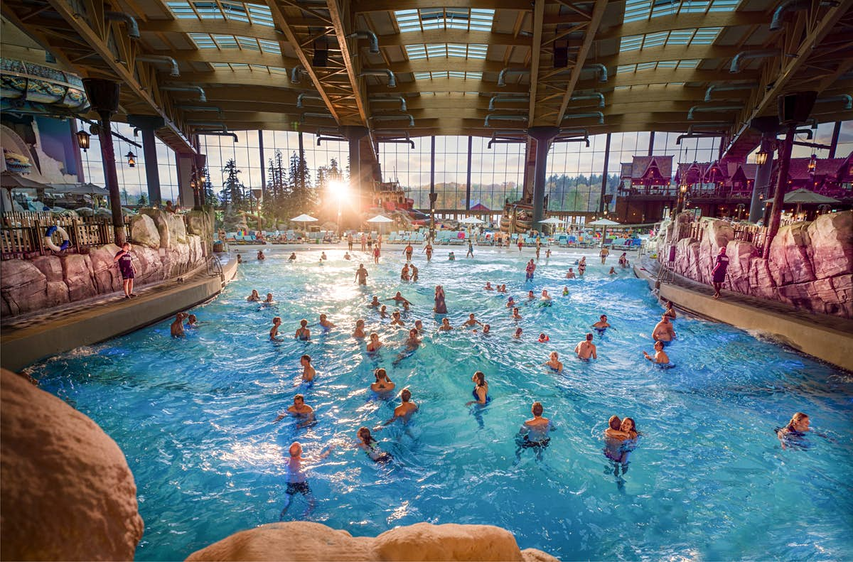 Europe has a massive new waterpark the size of five football fields
