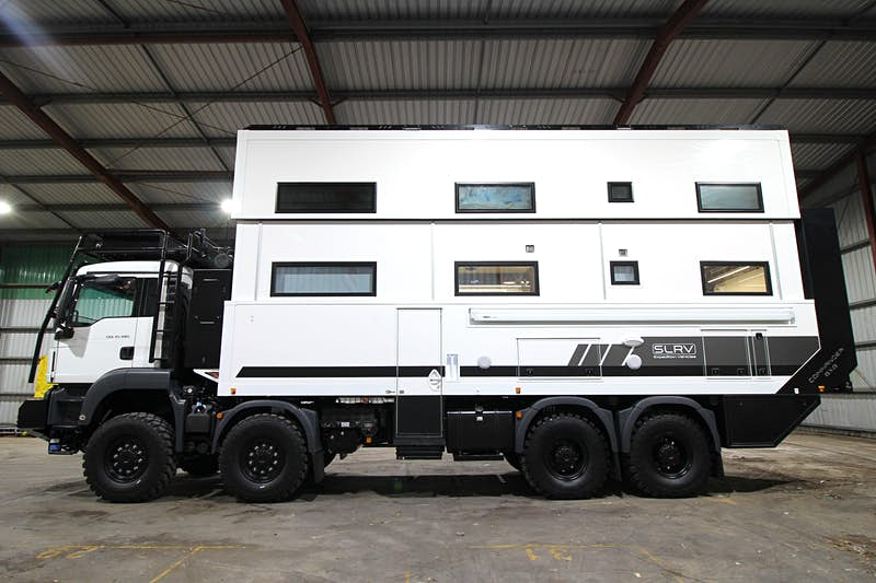 Enormous camper-van built for a family of eight