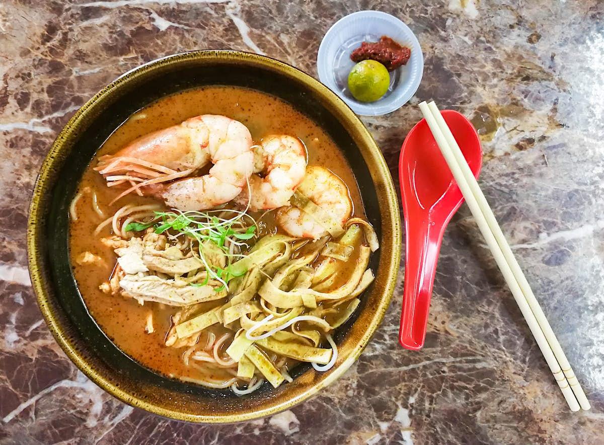 How to make Sarawak laksa