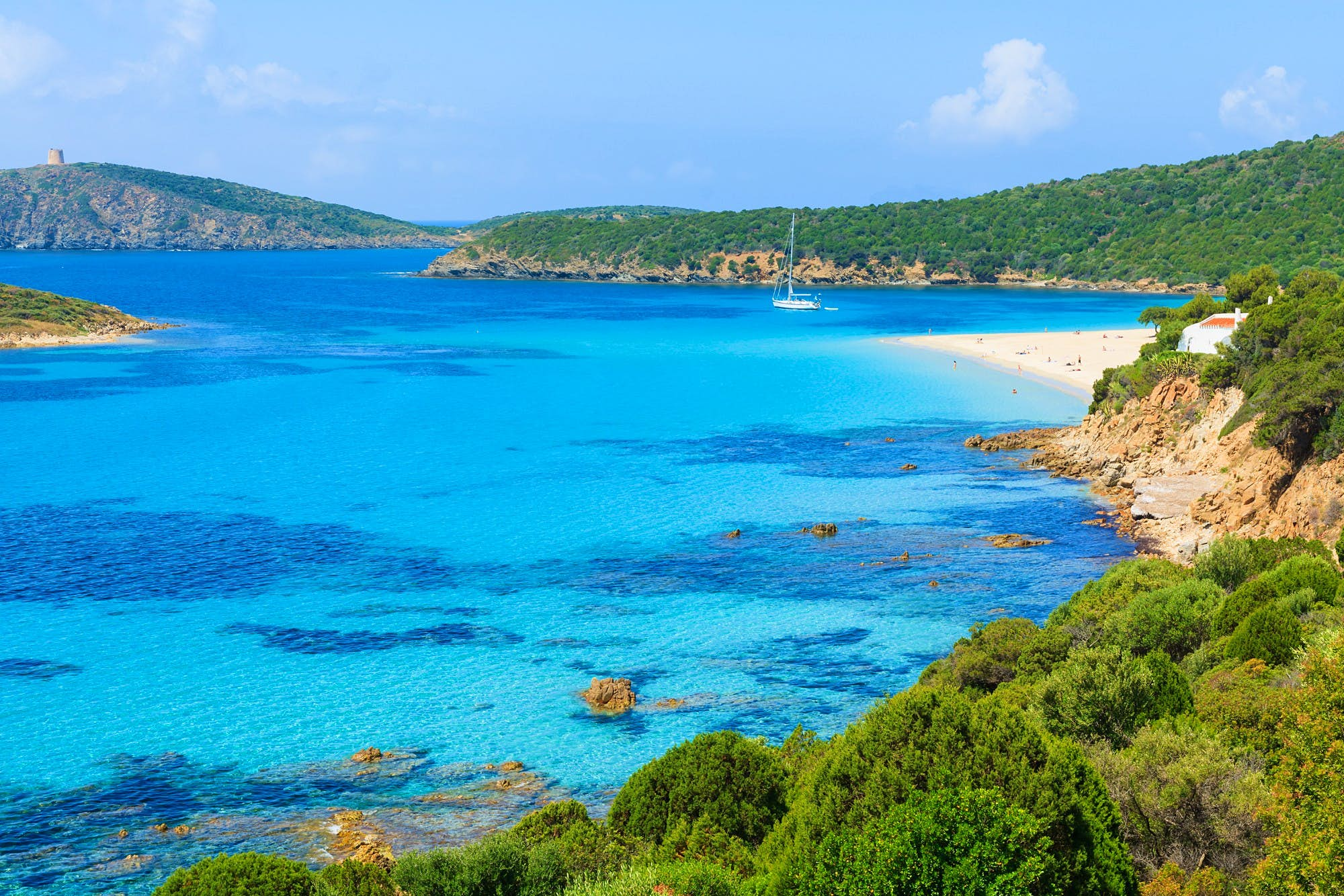 French tourists could face six years in prison for taking sand from a Sardinian beach
