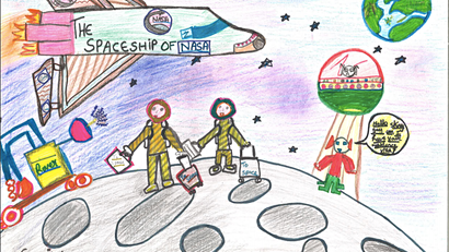 Moon Landings competition: and the winners are....