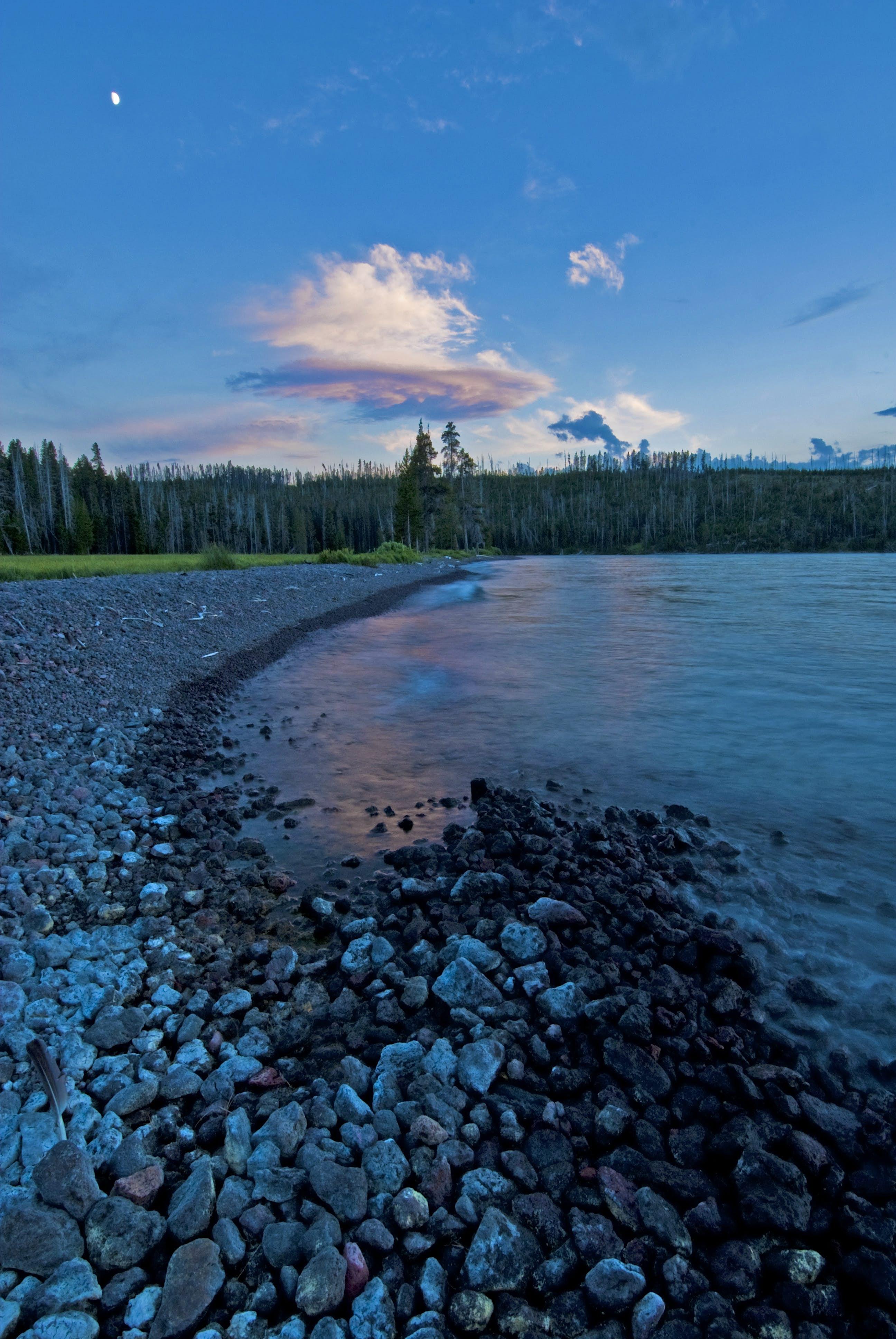 Shoshone Lake evening Yellowstone National Park.jpg