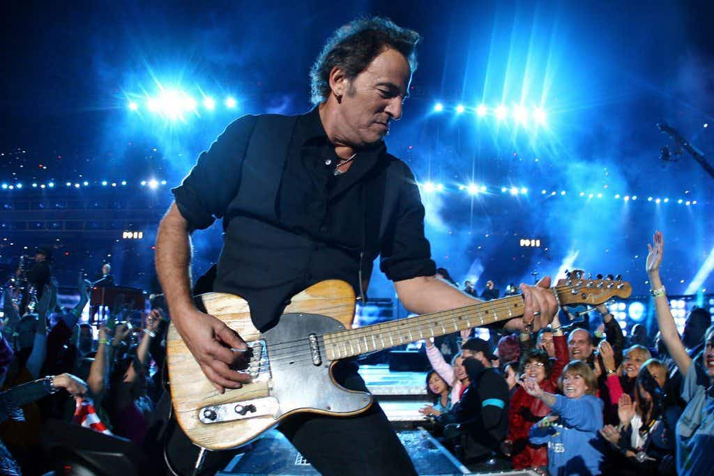 You can celebrate musician Bruce Springsteen's 70th birthday at a special themed night in London. Image: Jamie Squire/Getty Images