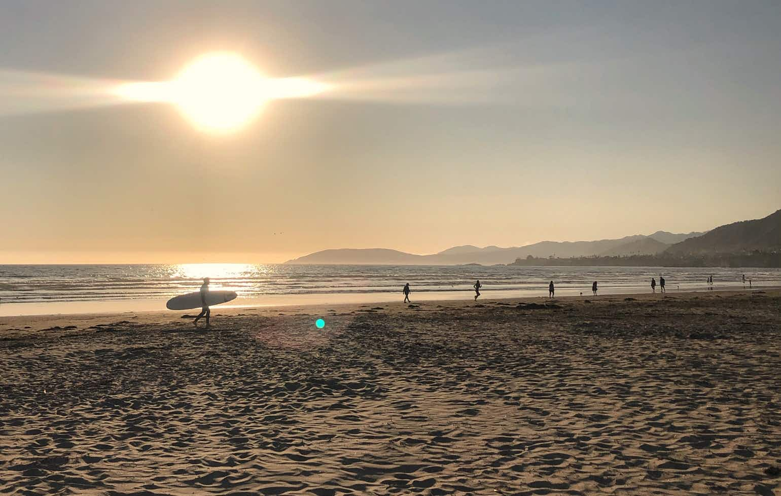 Surf in the morning and taste wine in the afternoon, Pismo Beach and the surrounding San Luis Obispo County wine region is a laidback wine-lovers retreat © Jennifer Simonson / Lonely Planet