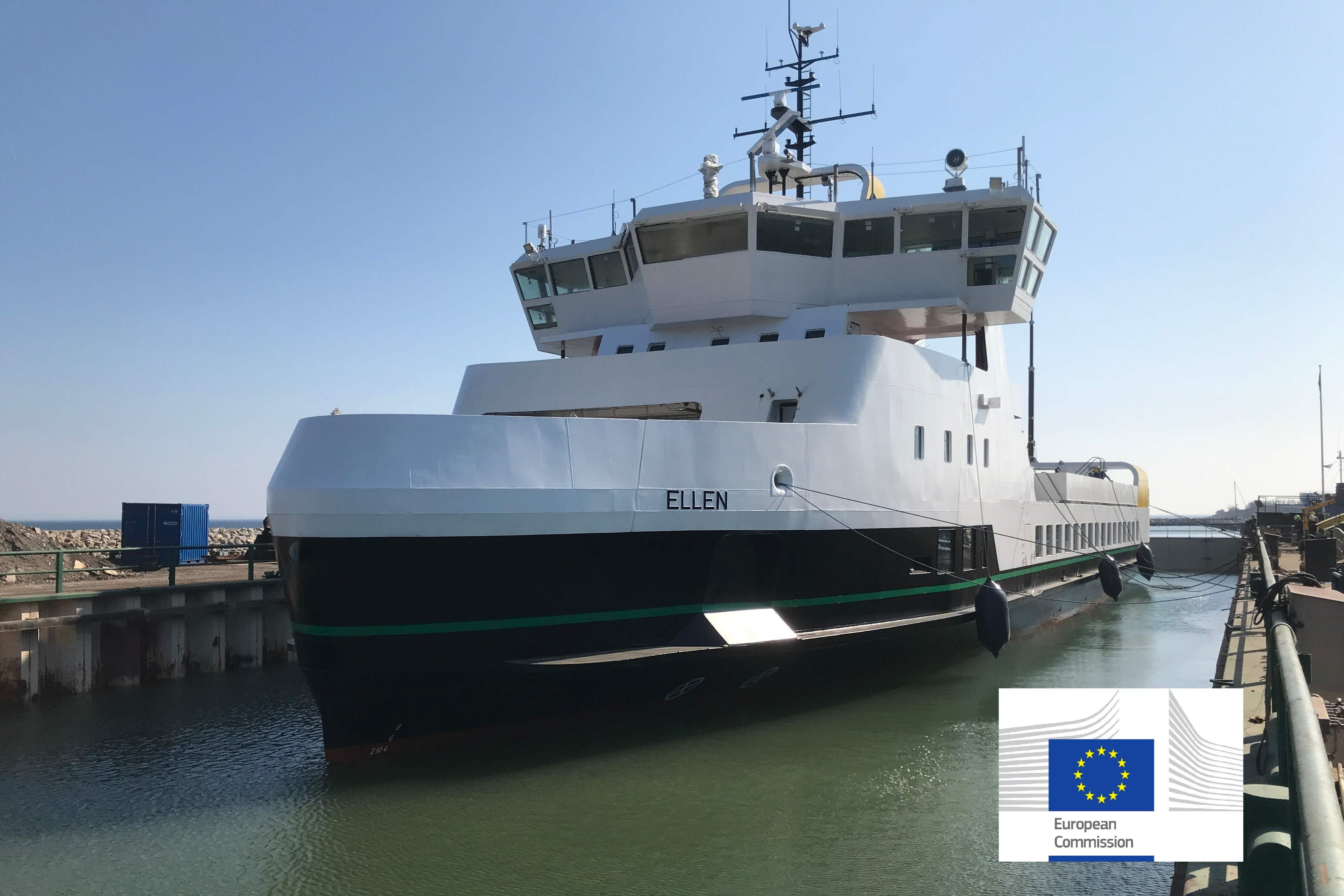 Denmark's first electric ferry is now ready for action