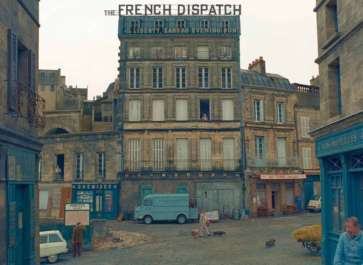 Where was The French Dispatch filmed?