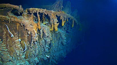 Is the famous Titanic wreck under threat?