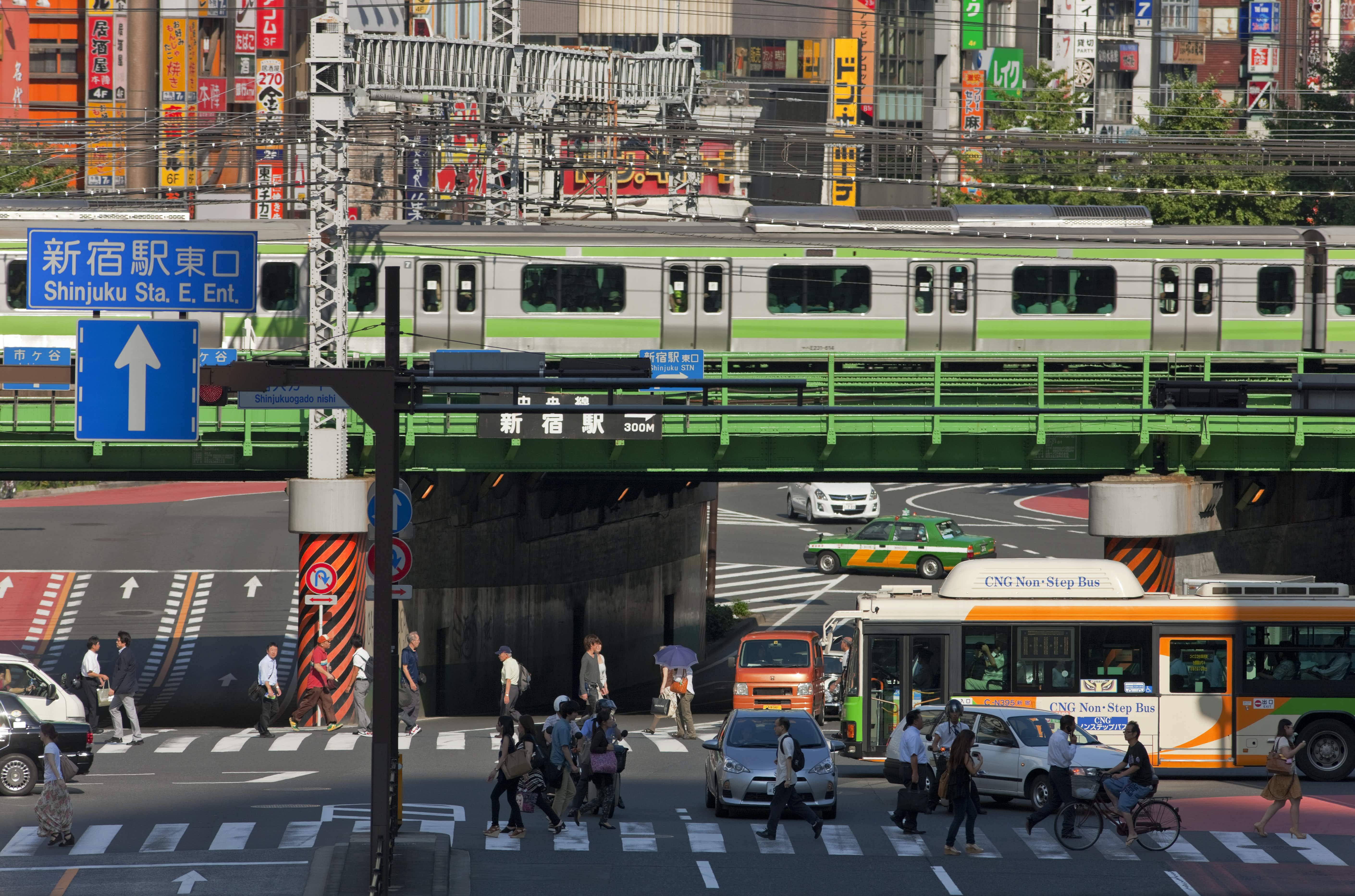 Things to do (and not do!) when taking public transport around Tokyo