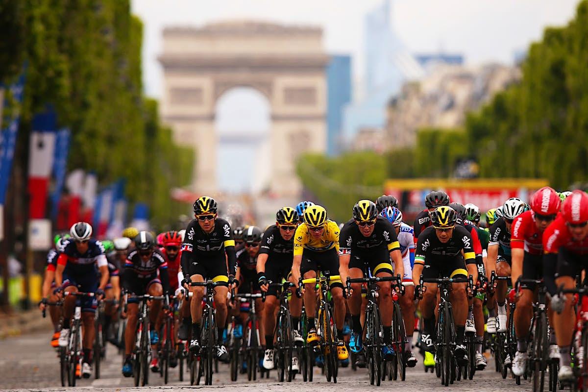 Rood Rugnummer Tour De France