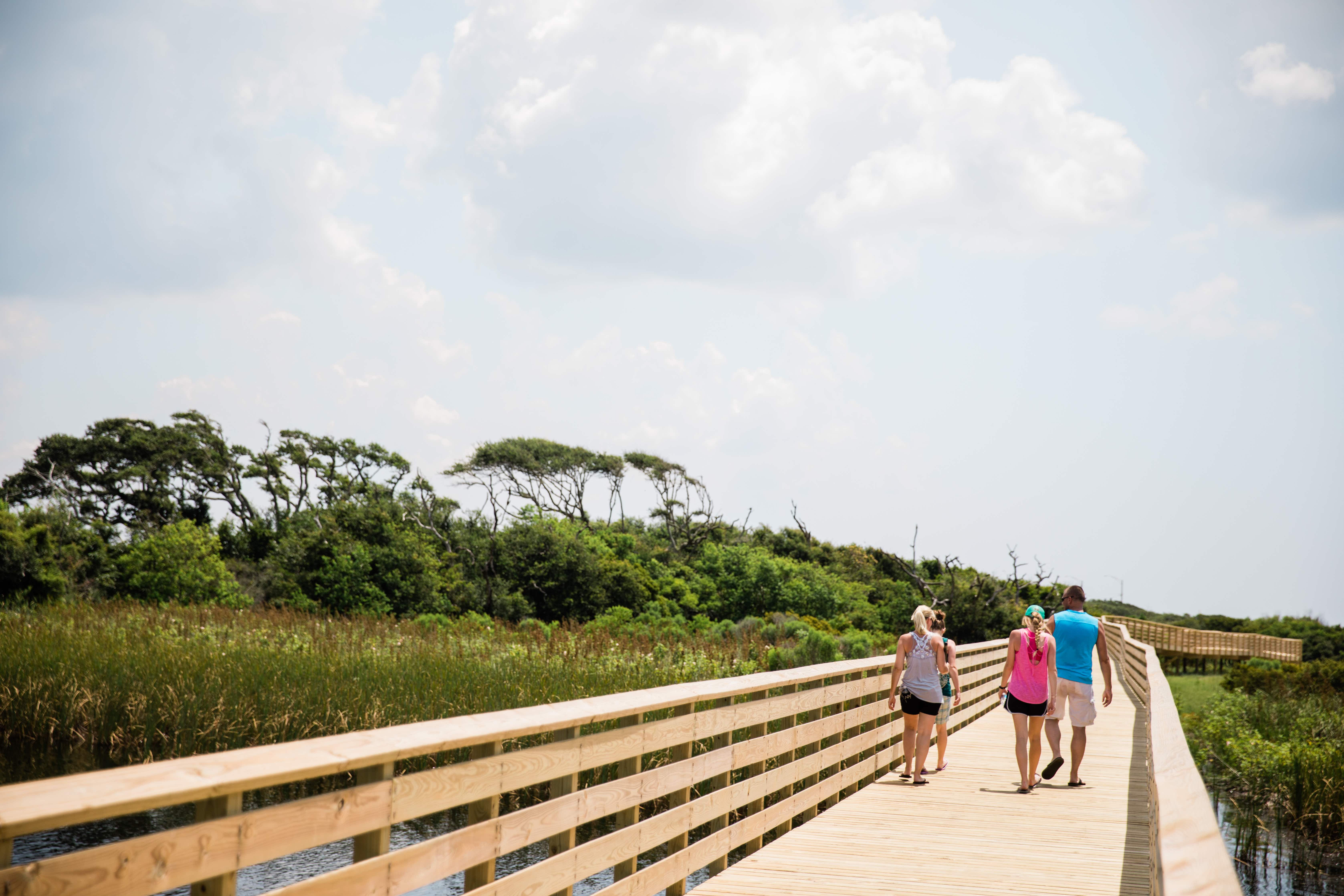 Visitors can traverse the park's 28 miles of trails © Gulf State Park