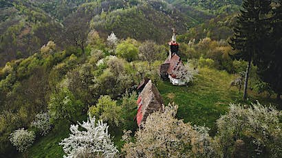 Inside the eerie abandoned buildings of Transylvania
