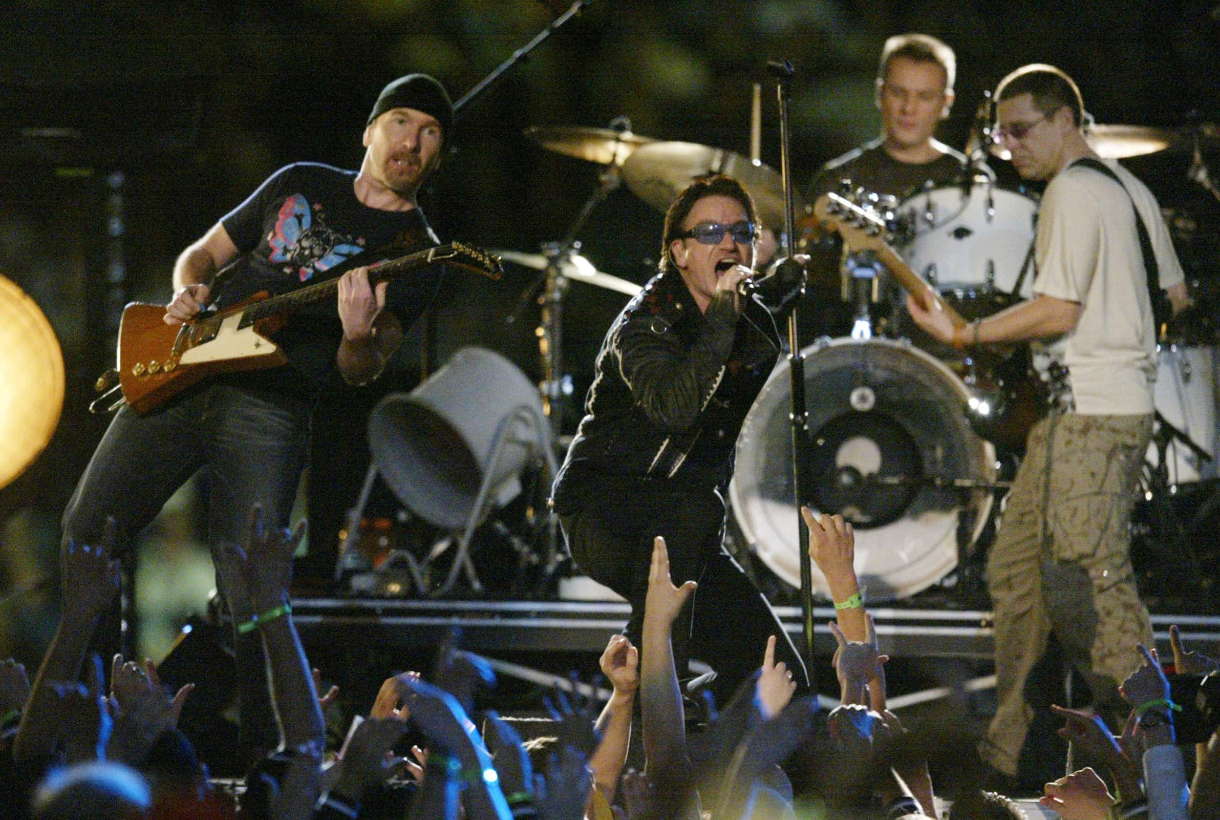 U2 recorded many albums at Windmill Lane Recording Studios © Jed Jacobsohn/Getty Images