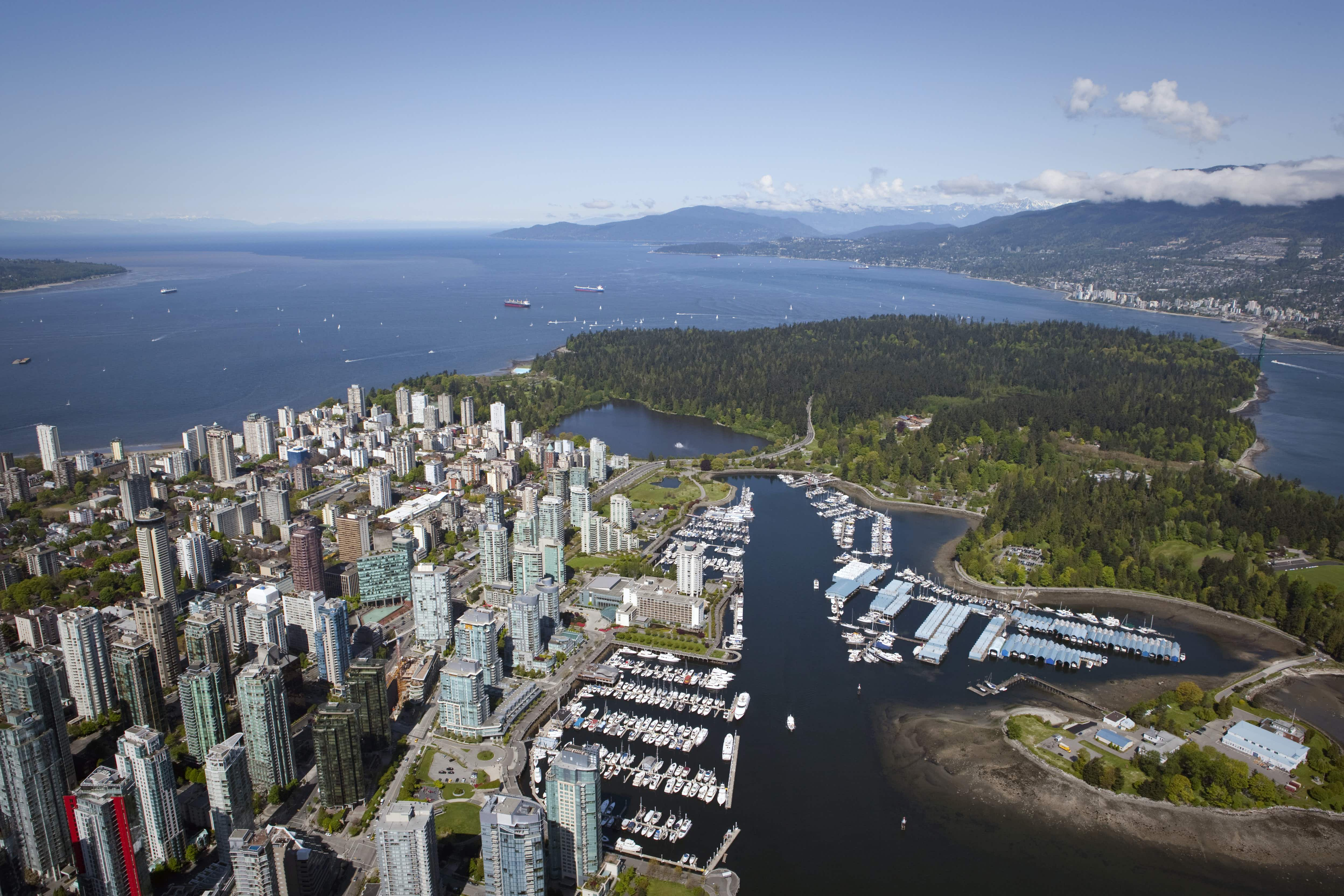 Even public art has an eco edge in Vancouver, which is working hard to become the greenest city in the world © John Lee / Lonely Planet