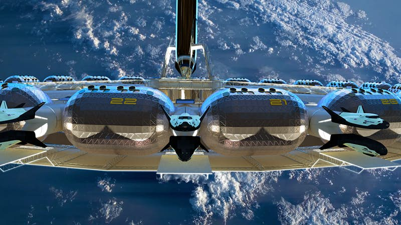 Check out the plans for the first commercial space hotel