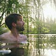 Joe Minihane has swam in ponds, rivers and lakes around the UK and beyond © Ben Cox