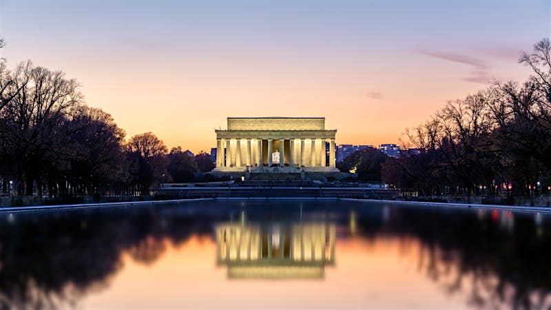 Washington DC Lincoln Memorial sunset.jpg