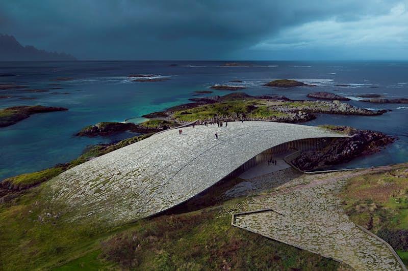 """""""The Whale"""" será a próxima atração impressionante da Noruega © Rendering by MIR"""