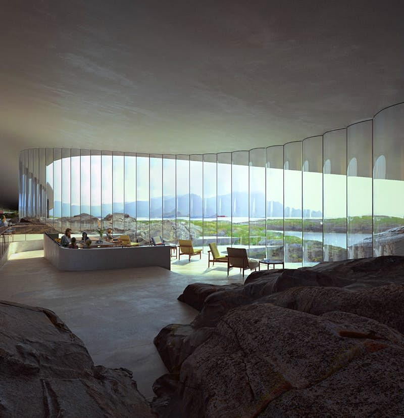 """The Whale"" será aberta em 2022 © Rendering by MIR"