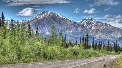The Dempster Highway: alone with the road