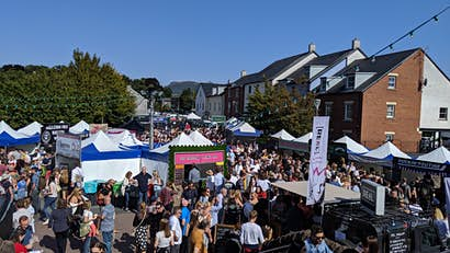Abergavenny Food Festival: a hungry traveller's guide