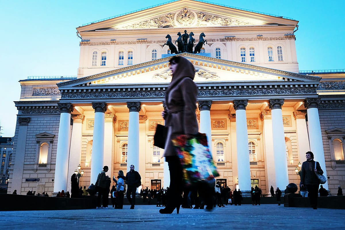 For the first time ever, the Bolshoi will livestream its ballets