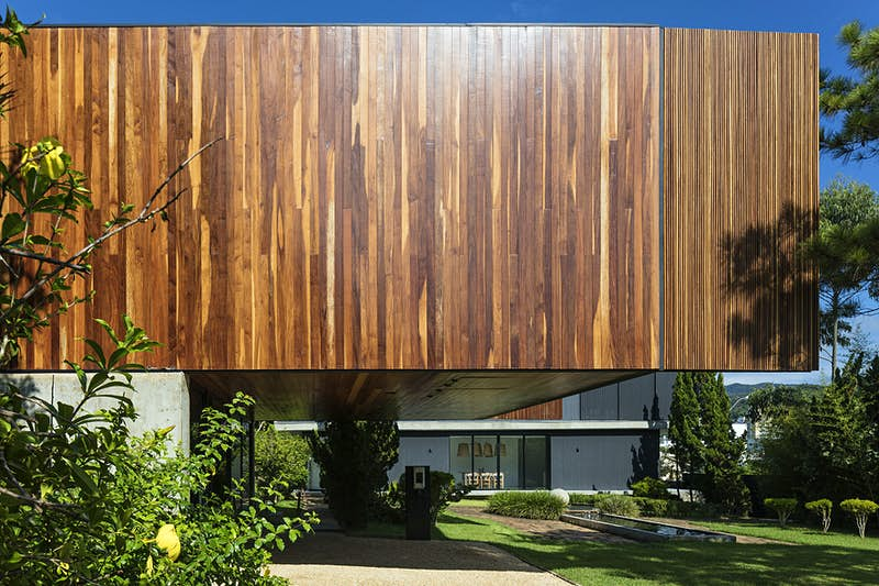 Stay in a chic eco-friendly hotel in Brazil that has a moving façade
