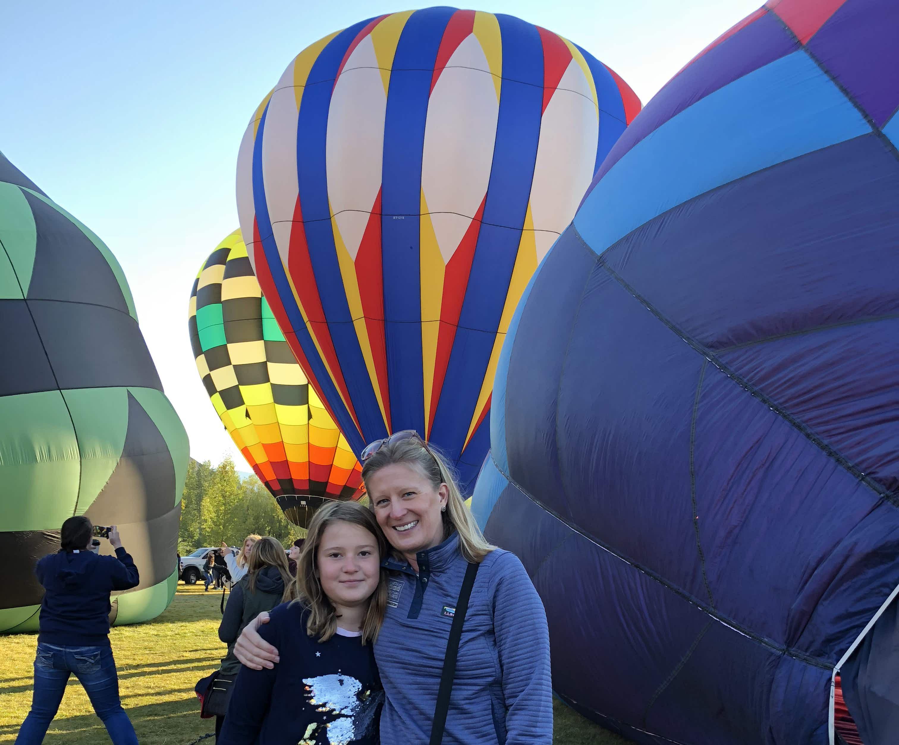 Family travel snap: hot-air ballooning in Snowmass, Colorado