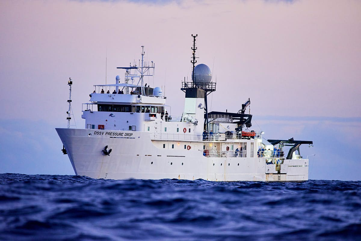 A cruise to the bottom of the Mariana Trench is in the works