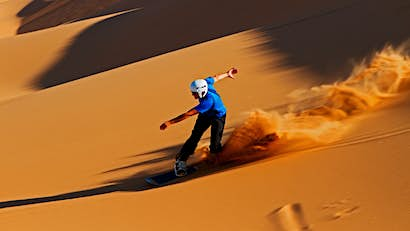 Dune boarding, climbing, surfing and more: finding adventure in Namibia