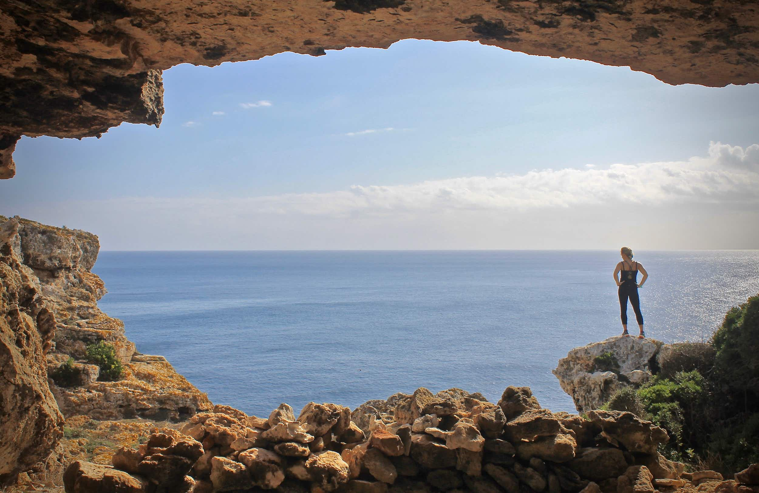 Bootcamps at Wildfitness in Menorca take advantage of the island's incredible natural environment © Wildfitness