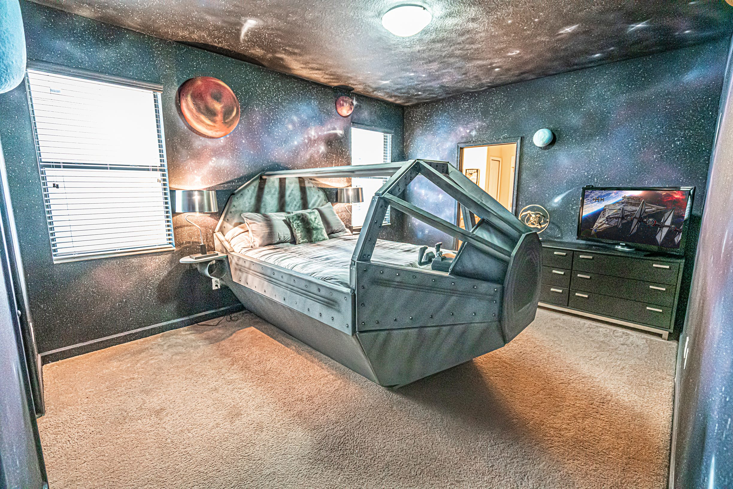 themed rooms disney inspired spaces.htm spend a night in a galaxy far  far away with these star wars  star wars