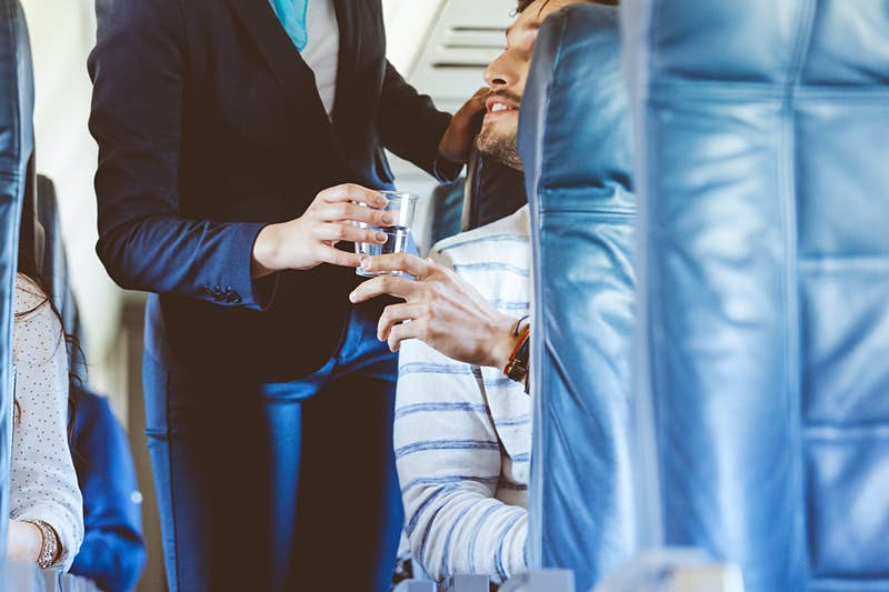 Does flying dehydrate you? Here's what you can do about it