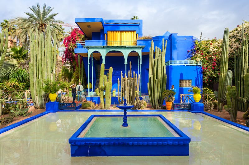 How to beat the queues and crowds at YSL's Jardin Majorelle in Marrakesh