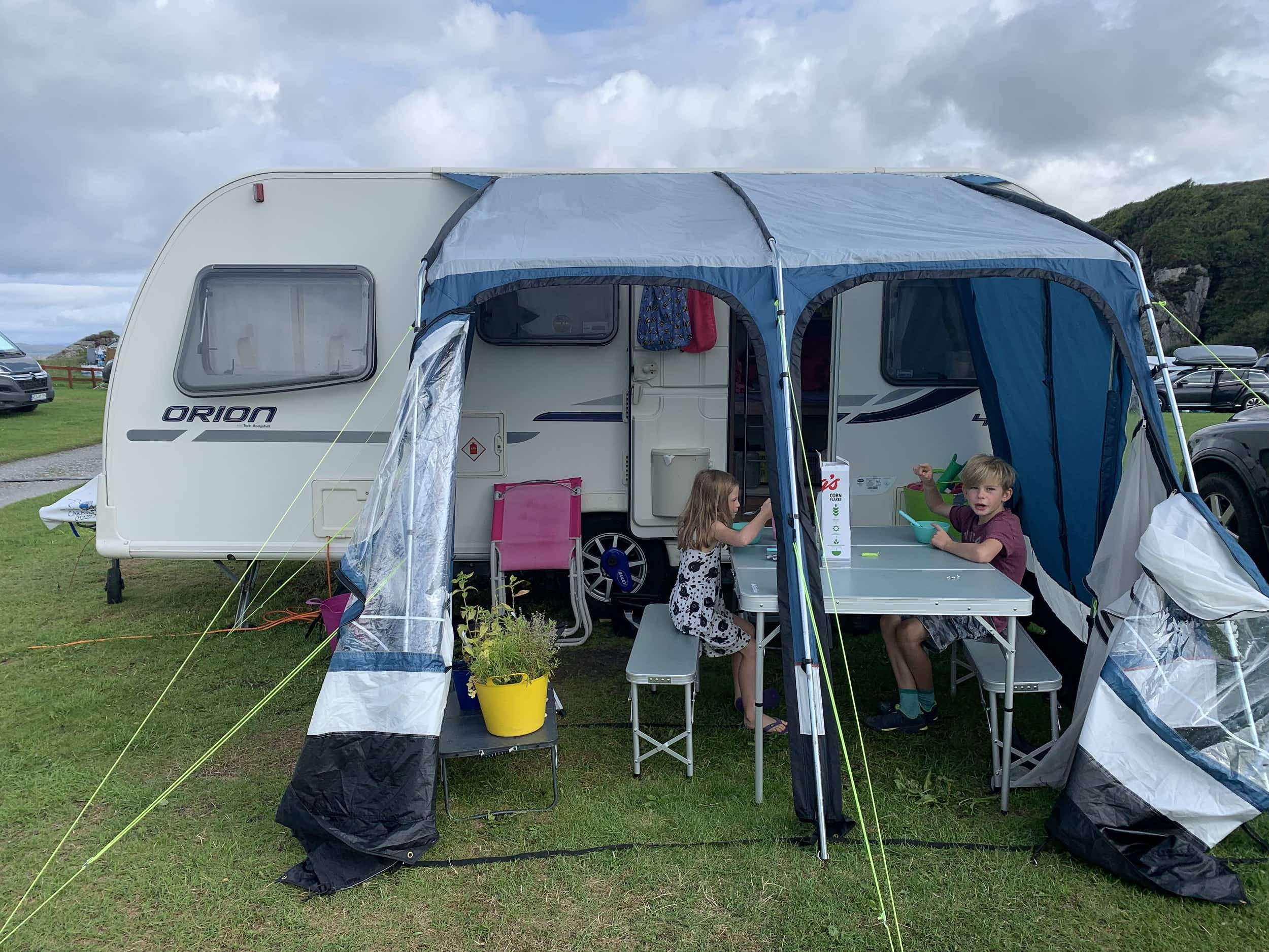 How to survive a summer in a caravan with young kids and live to tell the tale