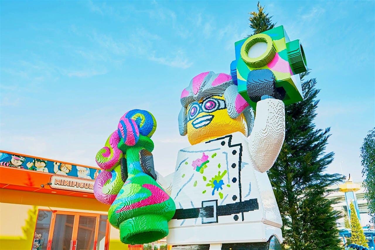 A abertura da maior Legoland do mundo foi adiada para 2021