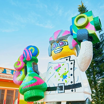 The opening of the biggest Legoland in the world has been pushed back to 2021