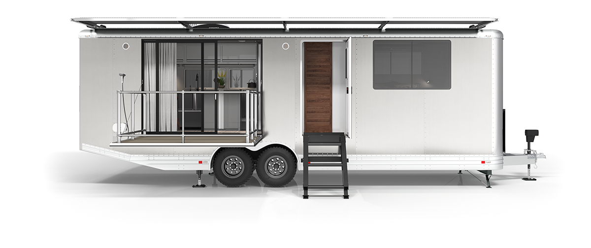 Self-sufficient and zero-waste travel trailers are coming out in 2020