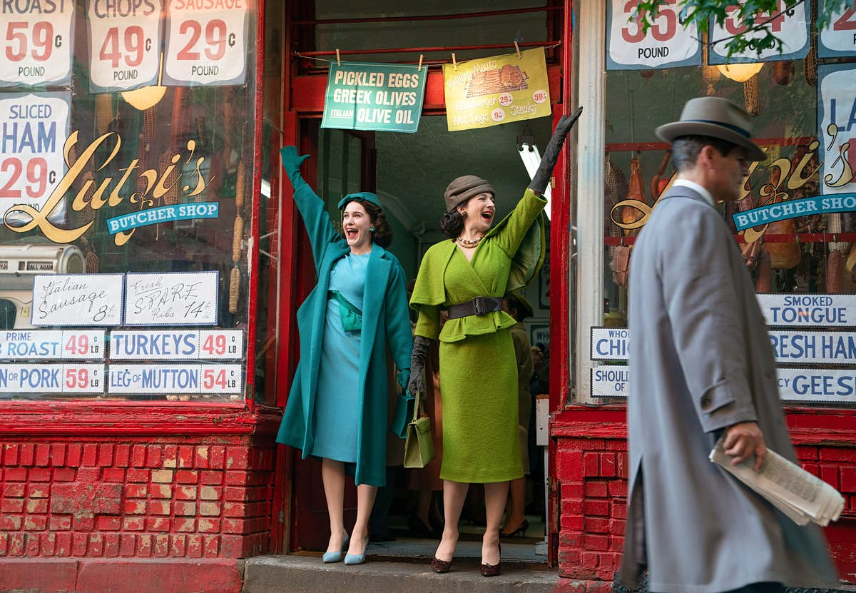 Take a Marvelous Mrs. Maisel tour at these real-life locales