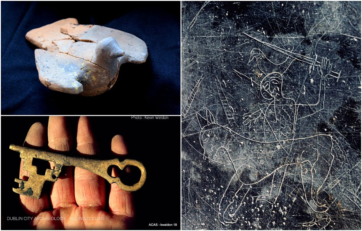 Viking-era artefacts to go on display in a new Dublin hotel