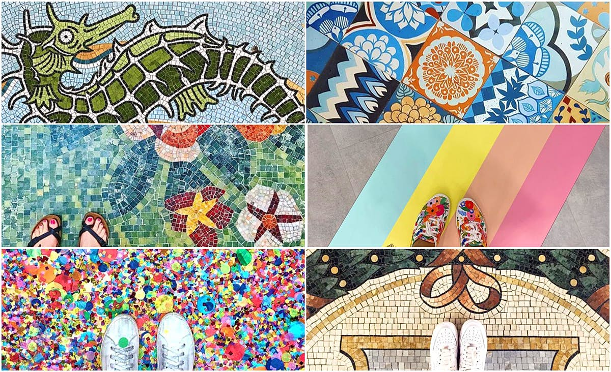 The most Instagrammable floors around the world from LA to Lisbon