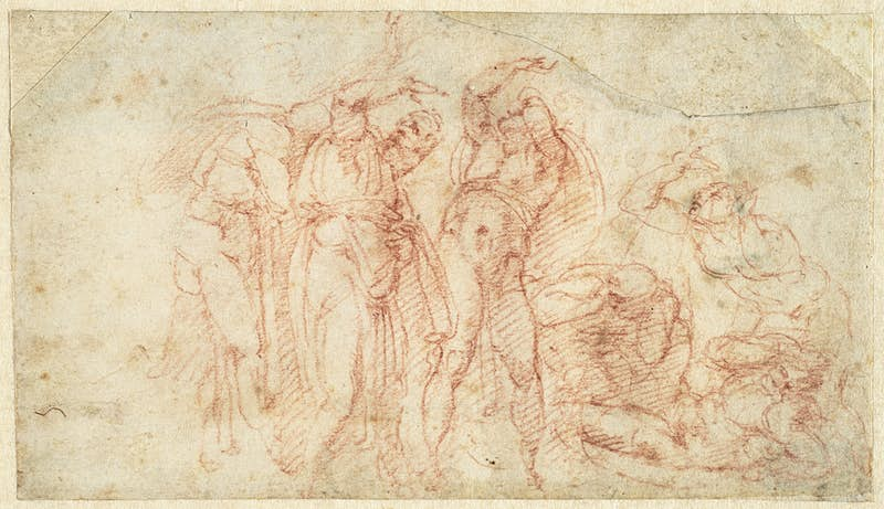 See how Michelangelo sketched the Sistine Chapel in a new US exhibition