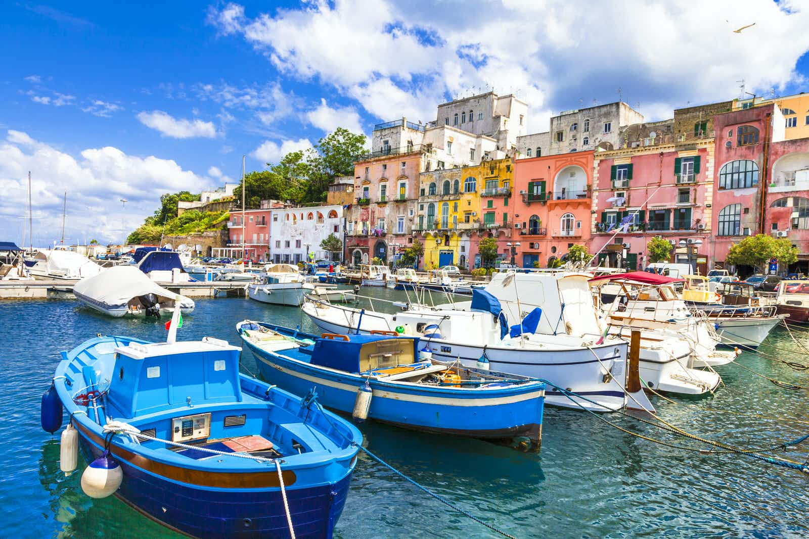 The technicolour coastal harbours of Procida are well worth lingering in © leoks/Shutterstock
